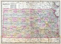 Kansas State Map, Crawford County 1906